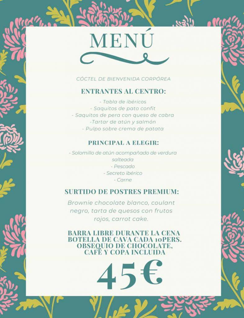 menu gold